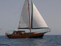 Paradise Segel Schiff turkishe gulet
